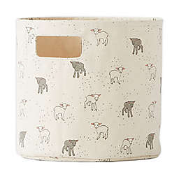 Pehr Just Hatched Small Canvas Storage Bin