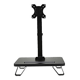 Mind Reader Single Monitor Adjustable Desk Arm Mount Stand