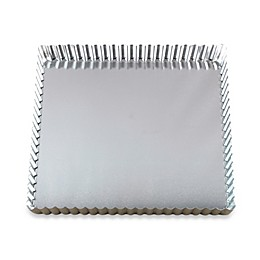 Gobel Tinned Steel Square Quiche Pan with Removable Bottom