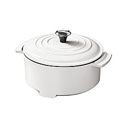 The ROCK by Starfrit 3.2 qt. Electric Casserole Pot in White