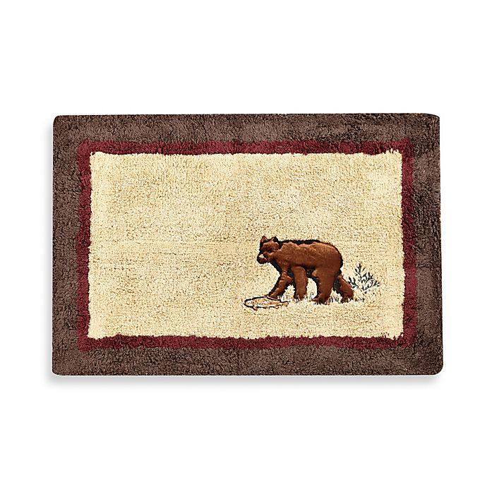 Caribu Dog Rug: Croscill® Caribou Bath Rug