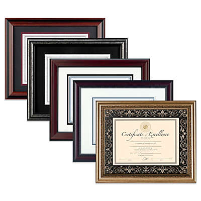 Dax 8.5-Inch x 11-Inch Recognition Document Frame