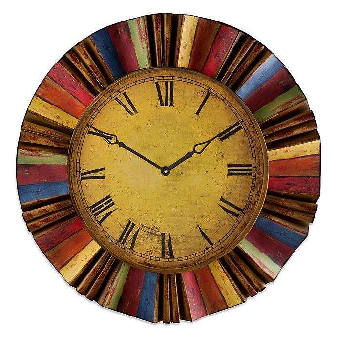 Alternate image 1 for Southern Enterprises Carnival Wall Clock