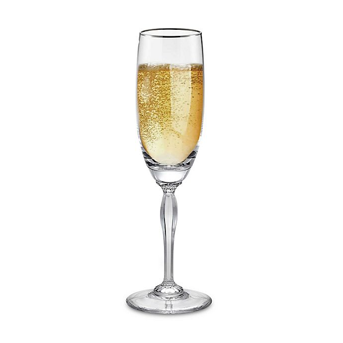 Marquis By Waterford Allegra Platinum 5 12 Ounce Toasting Flute