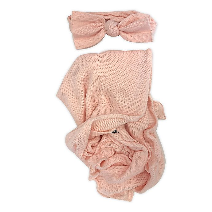 Alternate image 1 for NYGB™ 2-Piece First & Forever Wrap Set in Pink