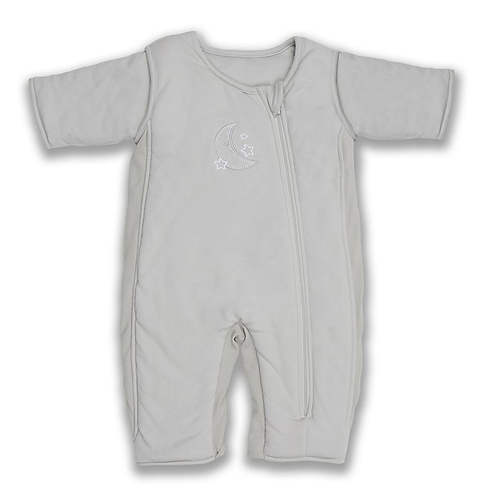 Alternate image 1 for Tranquilo™ Size 3-6M Swaddle Transition Sleepsuit in Grey