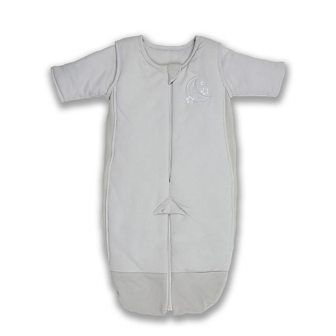 Alternate image 1 for Tranquilo™ Size 3-6M 3 in 1 Swaddle Transition Sleepsuit in Grey