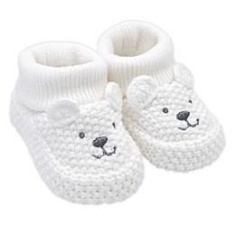 carter's® Crochet Bear Booties in Ivory