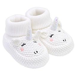 carter's® Crochet Unicorn Booties in White