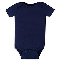 Lamaze® Organic Cotton Short Sleeve Bodysuit in Navy