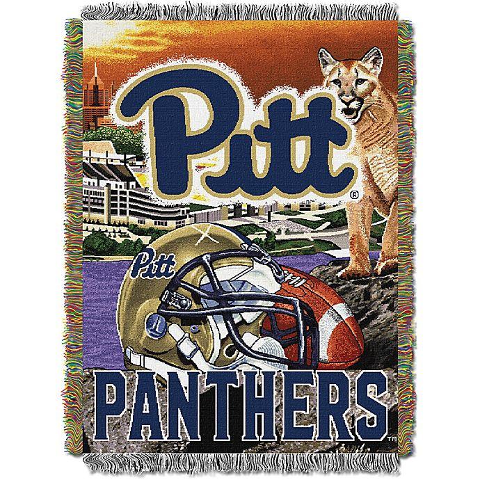 Alternate image 1 for University of Pittsburgh Tapestry Throw Blanket