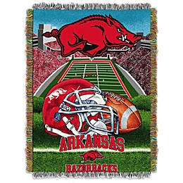 University of Arkansas Tapestry Throw Blanket