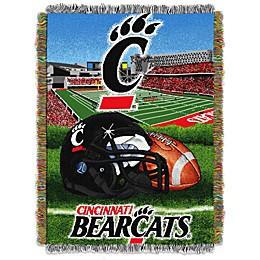 University of Cincinnati Tapestry Throw Blanket
