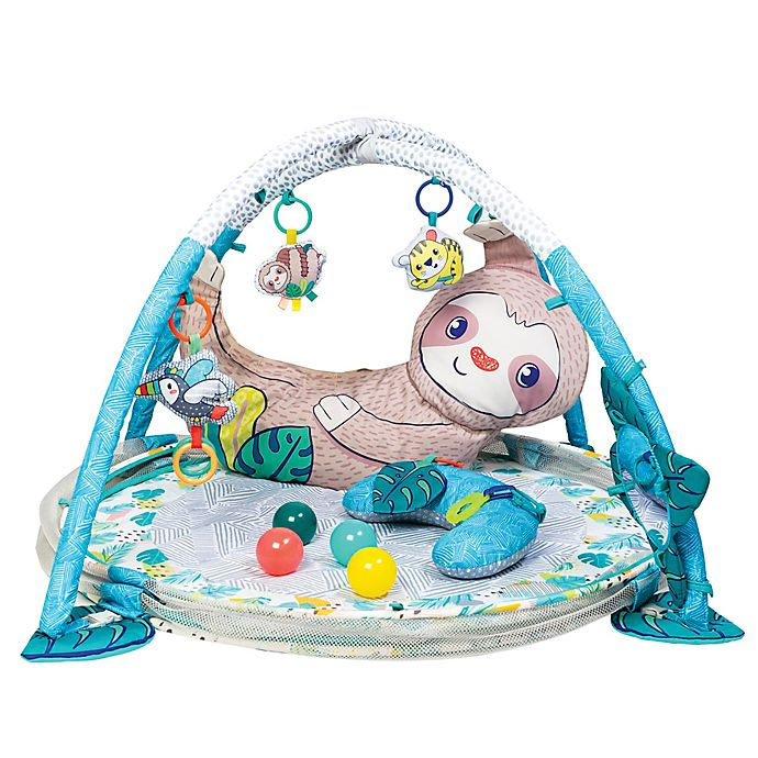 Alternate image 1 for Infantino® 4-in-1 Jumbo Activity Gym and Ball Pit