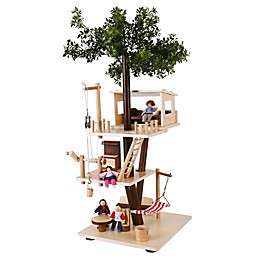 EverEarth™ Wooden Tree House Playset