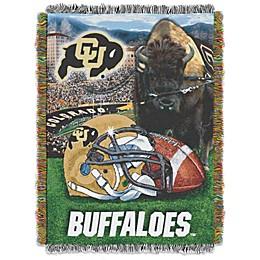 University of Colorado Tapestry Throw Blanket