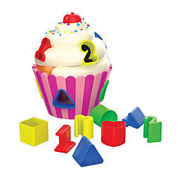 The Learning Journey 9-Piece Cupcake Shape Sorter