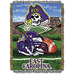 East Carolina University Tapestry Throw Blanket
