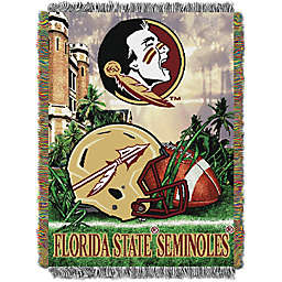 Florida State University Tapestry Throw Blanket