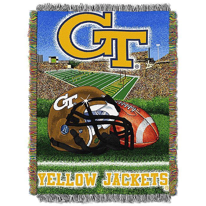 Alternate image 1 for Georgia Tech Tapestry Throw Blanket