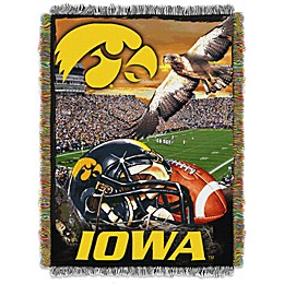 University of Iowa Tapestry Throw Blanket