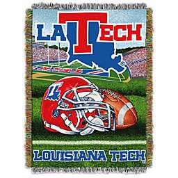 Louisiana Tech University Tapestry Throw Blanket