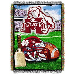 Mississippi State University Tapestry Throw Blanket