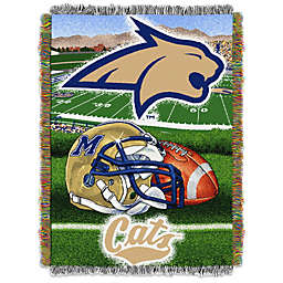 Montana State University Tapestry Throw Blanket