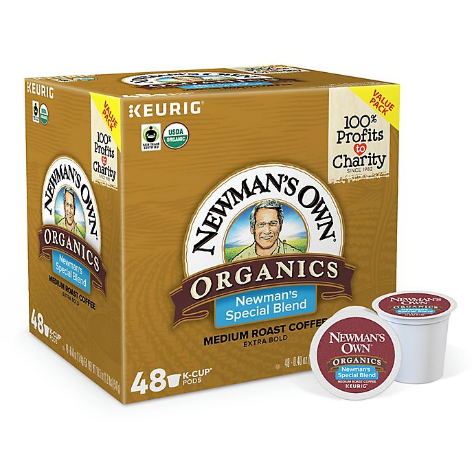 Alternate image 1 for Newman's Own® Organics Special Blend Coffee Keurig® K-Cup® Pods 48-Count