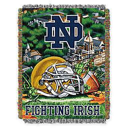 University of Notre Dame Tapestry Throw Blanket