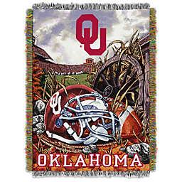 University of Oklahoma Tapestry Throw Blanket