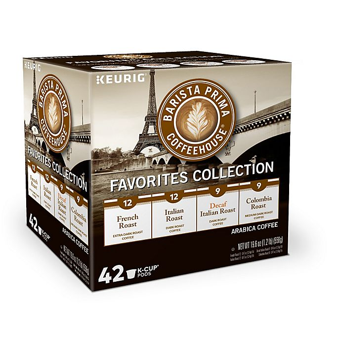 Alternate image 1 for Barista Prima Coffeehouse® Variety Pack Coffee Keurig® K-Cup® Pods 42-Count