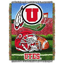 University of Utah Tapestry Throw Blanket