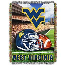 West Virginia University Tapestry Throw Blanket