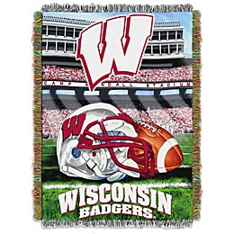 University of Wisconsin Tapestry Throw Blanket