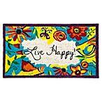 Live Happy Coir Door Mat Insert