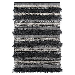 Momeni® Otto Indoor/Outdoor Rug in Black