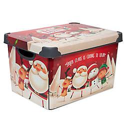Simplify Santa Clause Storage Tote Bin