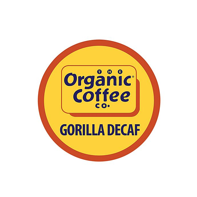 Alternate image 1 for 36-Count OneCup™ Organic Coffee Company Gorilla Decaf for Single Serve Coffee Makers