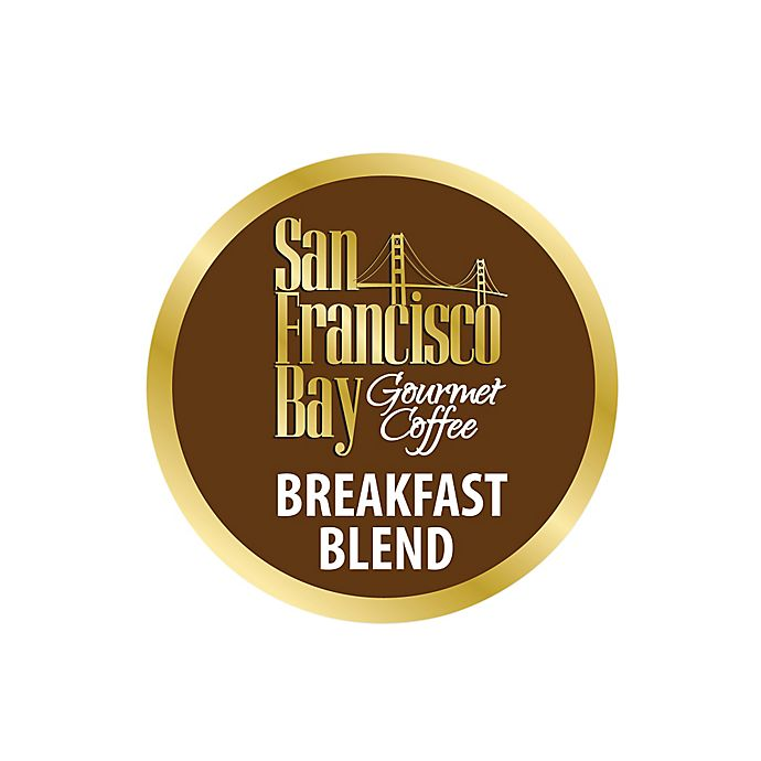 Alternate image 1 for 36-Count OneCup™ San Francisco Bay Breakfast Blend Coffee for Single Serve Coffee Makers