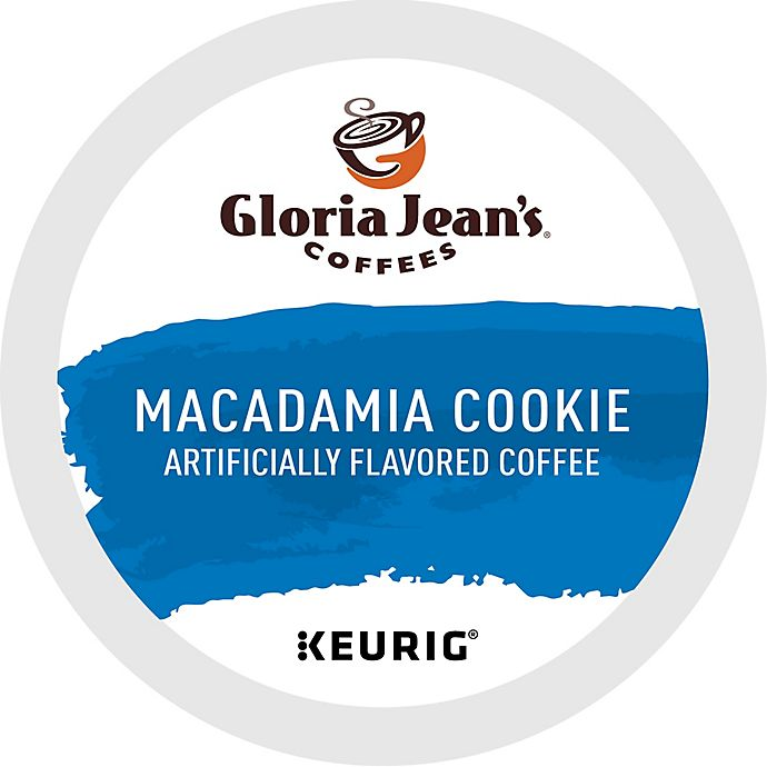 Alternate image 1 for Gloria Jean's® Macadamia Flavored Coffee Keurig® K-Cup® Pack 18-Count