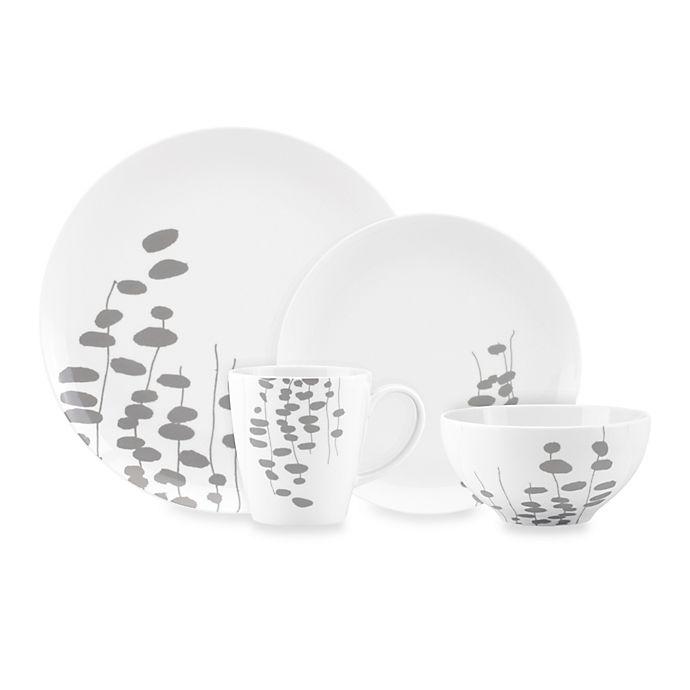Alternate image 1 for Dansk® Lotta Wisp Dinnerware Collection in Grey