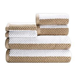 Rugby 6-Piece Towel Set