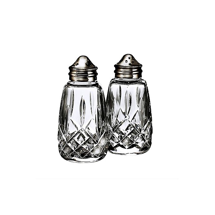 Alternate image 1 for Waterford® Lismore Salt and Pepper Shakers