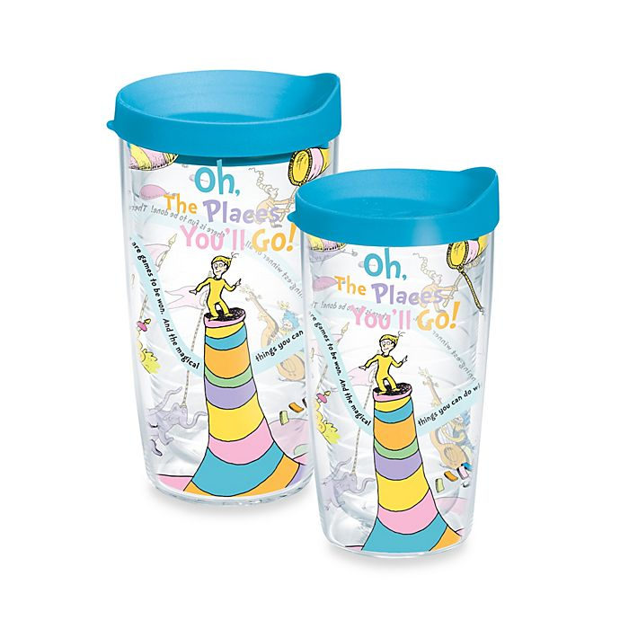 Alternate image 1 for Tervis® Dr. Seuss Oh! The Places You'll Go Wrap Tumbler with Lid