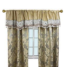 Austin Horn Classics Duchess 2-Pack 84-Inch Window Curtain Panels in Gold