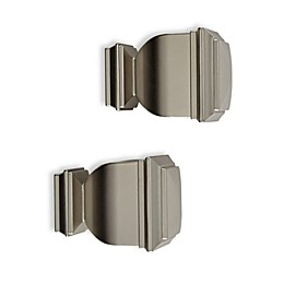 Cambria® Elite Complete Napoleon Finial in Brushed Nickel (Set of 2)