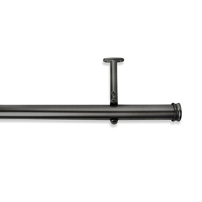 Alternate image 1 for Cambria® Premier Complete Decorative Drapery Rod in Graphite