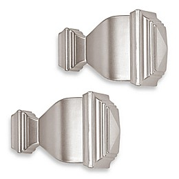 Cambria® Classic Complete® Napoleon Finial in Brushed Nickel (Set of 2)