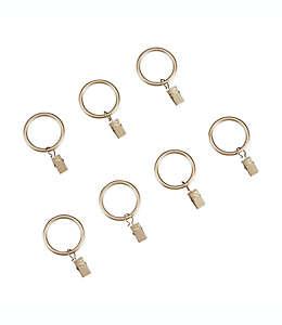 Aros con pinzas de acero Cambria® Premier Complete color dorado